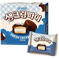 Orion Fresh Cream Pie Original 9.31ounce (12 Pieces) 오리온 생크림파이 오리지널