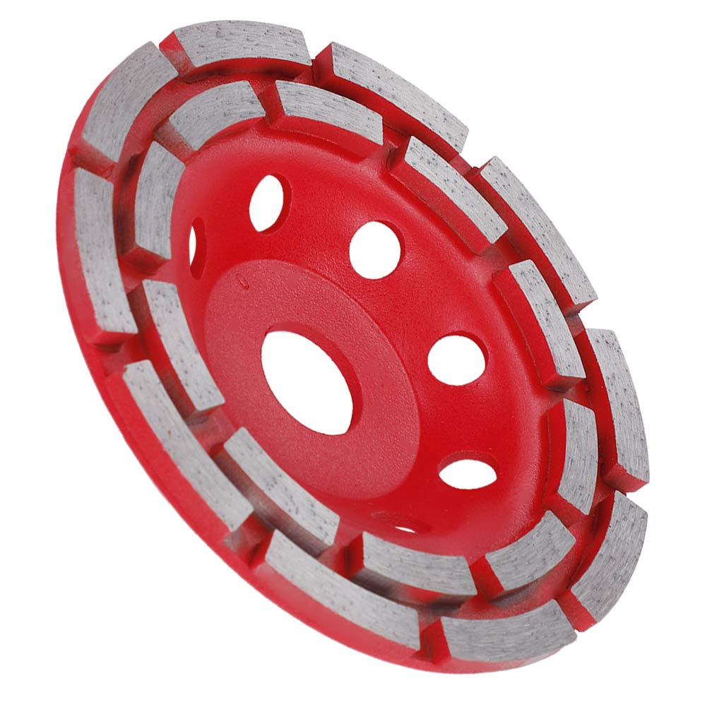 Disque Diamant /à Meuler B/éton Disque de Meule de Segment Diamant Disque de Polissage pour B/éton 125 Dalles de Marbre et Pierres 22.23mm