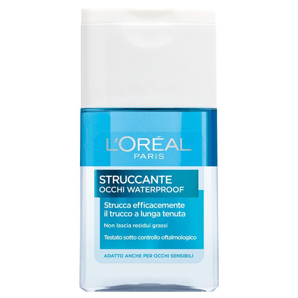 L'Oréal Paris Struccante per Occhi Waterproof Strucca Efficacemente il Trucco a Lunga Tenuta, 125 ml A1797113