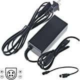 UpBright 24V 4-Pin DIN AC//DC Adapter Compatible with AG Neovo DR-22 DR22 DR-22E DR22E 22 LED LCD Monitor 24VDC 1.25A 2A DC24V 24 VDC 24 V 24.0V Switching Power Supply Cord Cable Charger Mains PSU