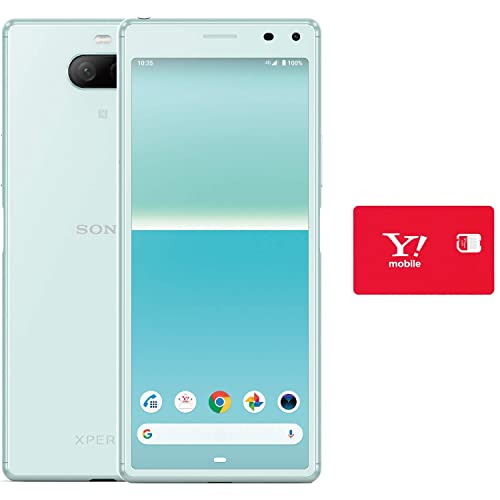 Xperia 8 ブルー Y!mobileセット