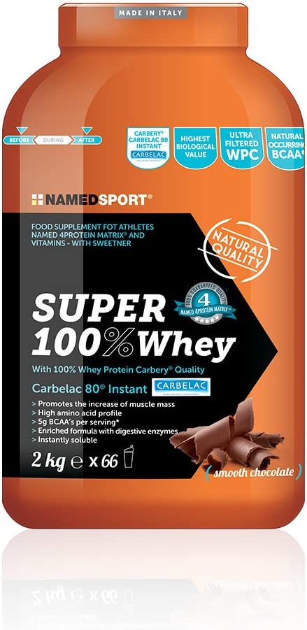 Named Sport - Super 100% Whey Chocolate 2 kg.