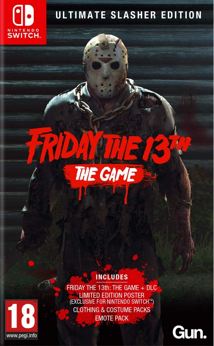 Friday the 13th: The Game - Ultimate Slasher Edition: Amazon.es ...