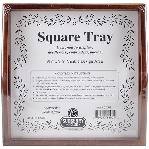 Sudberry House 68001 Small Square Tray, 10
