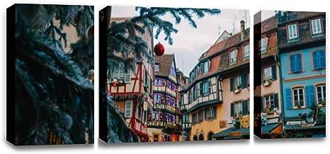 Home Decor Poster Wall Art Alsace Kitchen  Art//Canvas Print