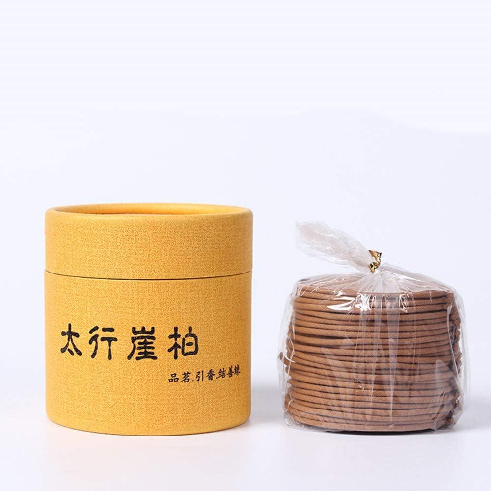DaTun648 Hueco de bambú Estufa Antigua Quemador de Incienso de sándalo Hogar Incienso fragante de bambú Quemador de Incienso de sándalo de Madera de agar
