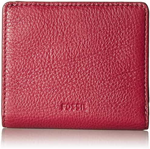 Fossil Emma Rfid Mini Wallet Raspberry Wine Wallet