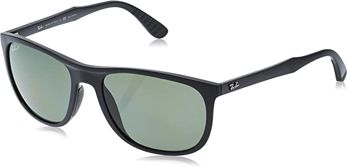 Ray-Ban 0RB4291 Gafas de sol, Black, 58 para Hombre: Amazon.es ...