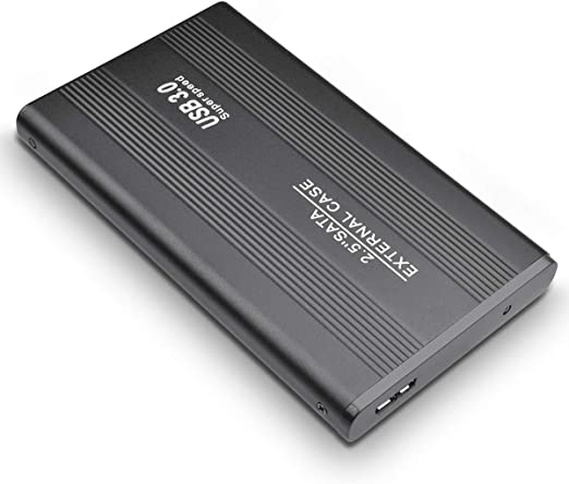 MUSDEA 2.5インチ ウルトラスリム USB 3.0 ポータブル 外付けハードドライブ 1TB PCとMac用 (2TB ブラック)