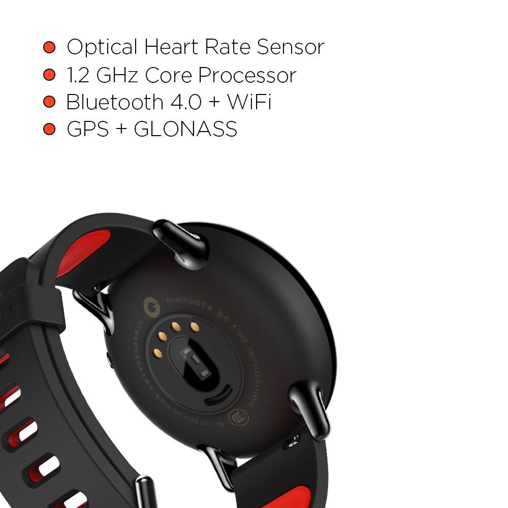 Amazon.com: Amazfit PACE - Reloj inteligente con GPS para ...