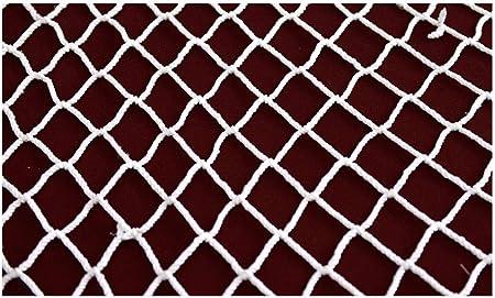 Red de protección Red De Cuerda Blanca, Red De Seguridad De Construcción, Malla De Nylon, Escaleras Para Niños, Balcón, Red De Protección, Aislamiento, Protección Contra Caídas, Red Contra Gatos Red d: Amazon.es:
