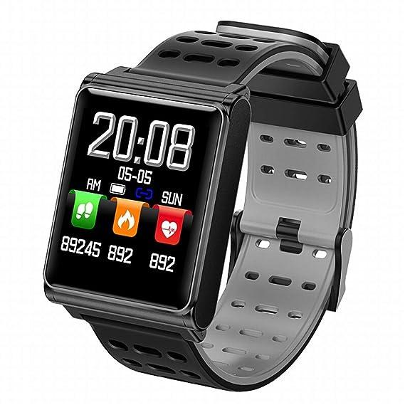 Fusanadarn Smart Watch Fitness Tracker Reloj de música Compatible ...