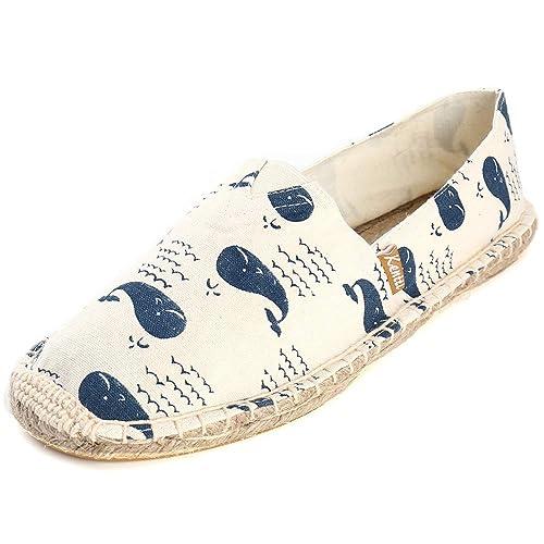 Kentti Hombres Ballena Azul Estilo Marino Alpargatas: Amazon.es: Zapatos y complementos