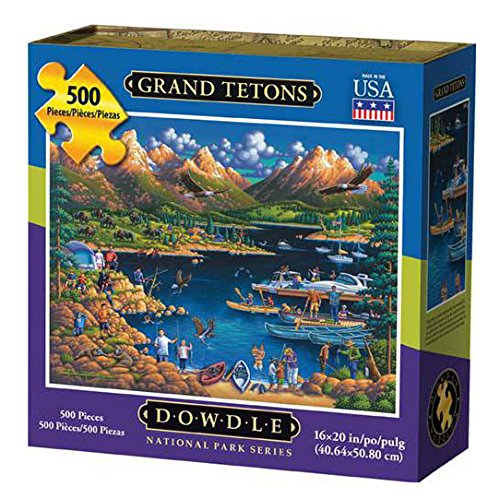 Dowdle Grand Tetons 500pcs puzzle