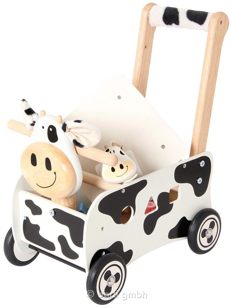 carro de madera para caminar