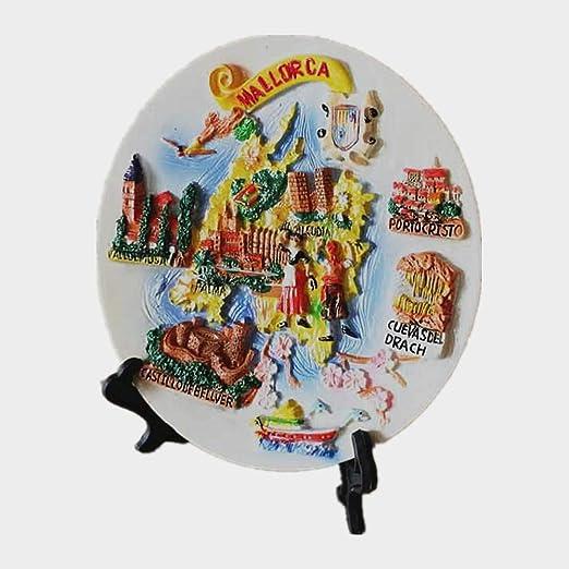 MUYU imán 3D Mallorca España Creativo hogar y Cocina decoración de Escritorio Ornamento Turismo Souvenir Regalo: Amazon.es: Hogar