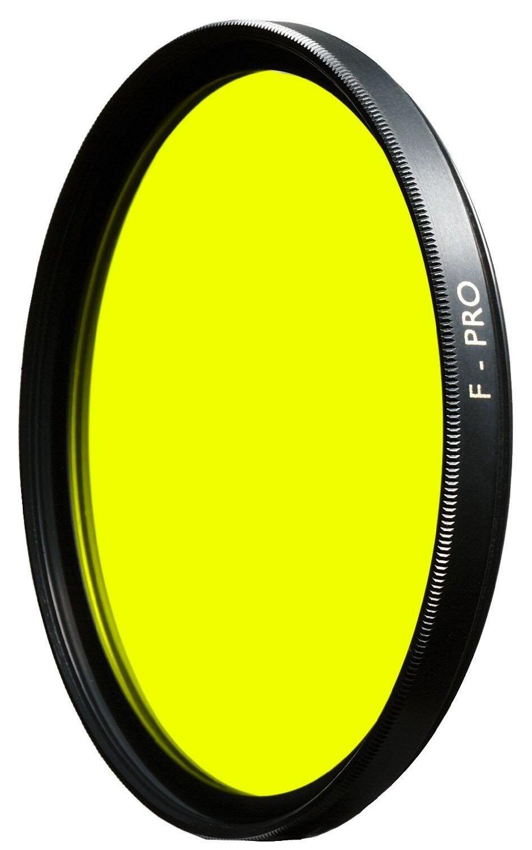67mm, F-Pro B+W Filtre Jaune Moyenne Import Allemagne