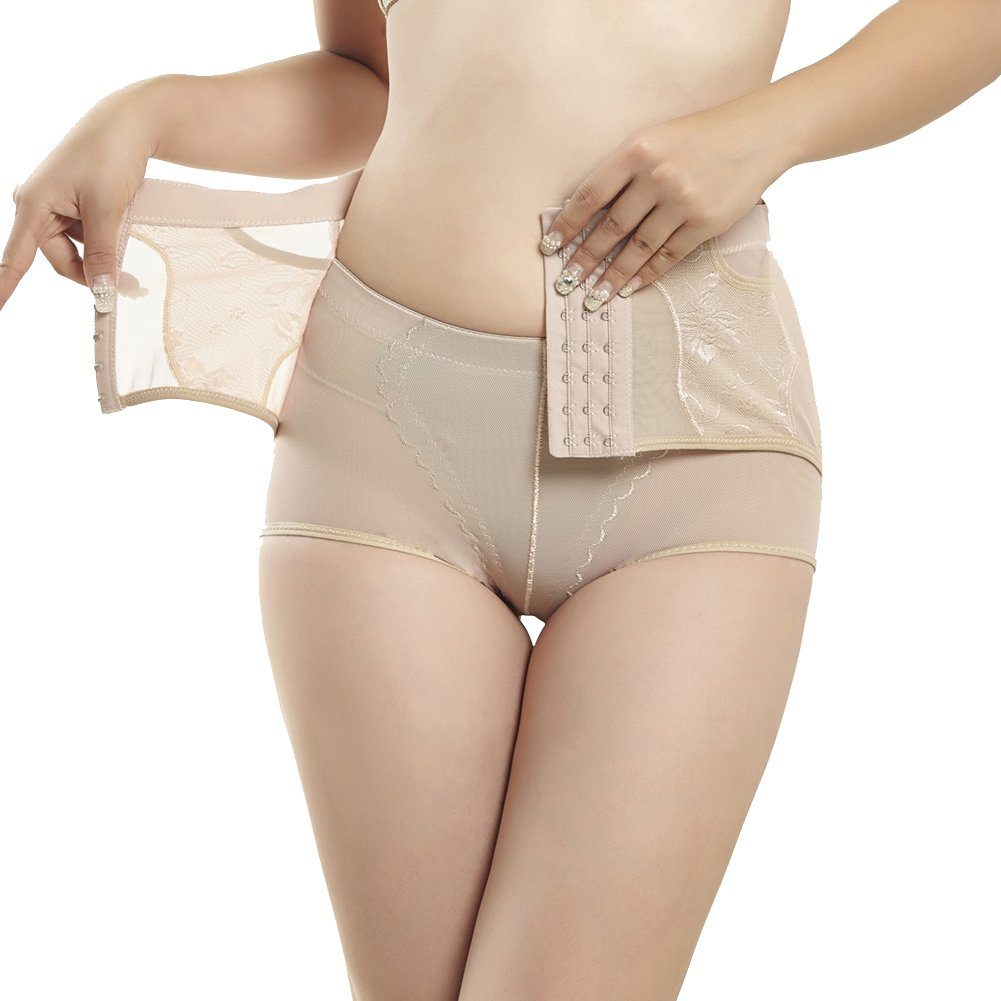 45796390024 AICONL Postpartum Body Shaper High Waist Tummy Control Panty Butt Lifter