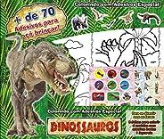 Dinossauros: Colorindo com Adesivos Especial