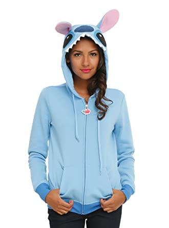 Disney Lilo u0026 Stitch Girls Costume Hoodie  sc 1 st  Amazon.com & Amazon.com: Disney Lilo u0026 Stitch Girls Costume Hoodie: Clothing