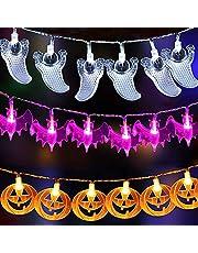 Joomer Halloween Decoration Pumkin String Lights