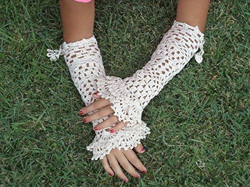 Amazoncom Crochet Gloves Crochet Mittens Crochet Cuffs Gloves