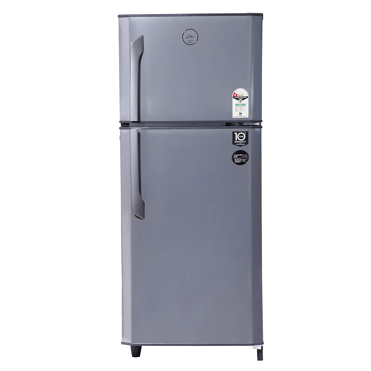 Godrej 231 L 1 Star Frost-Free Double Door Refrigerator (RF EON 245A 15 HF SI ST, Silver Strokes)