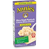Annie's Shell Pasta & Creamy White Cheddar Macaroni and Cheese, Gluten Free, 6oz