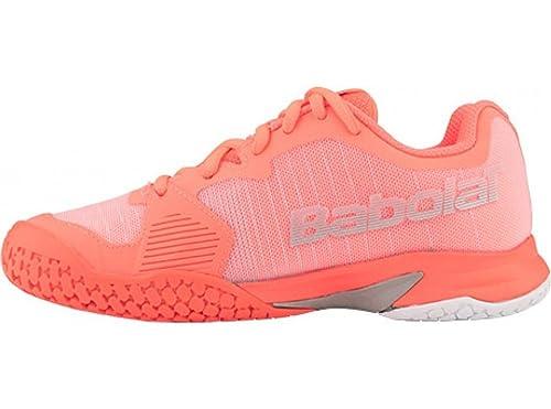 3eaba6c0436952 Babolat Jet All Court Junior Tennis Shoes: Amazon.co.uk: Shoes & Bags