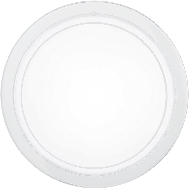 Wand-/ Deckenleuchte Lampe Leuchte Beleuchtung Licht Eglo PLANET 1 83153 (weiß) [Energieklasse D] [Energieklasse D]