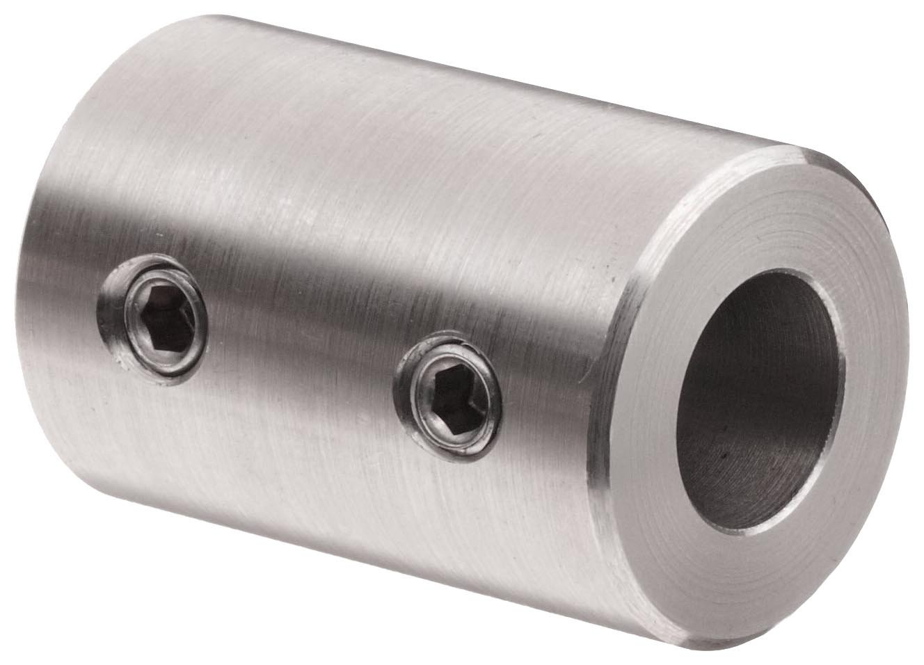 1-1//2 OD With 5//16-18 x 3//8 Set Screw 3//4 Bore 1-1//2 OD Climax Metal Products Climax Metal RC-075-S  Coupling 3//4 Bore Stainless Steel Grade 303