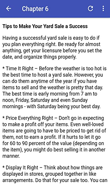 Amazon Com Yard Sales Guide Appstore For Android
