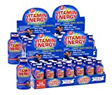 Vitamin Energy Shots - Acai Pomegranate | Vitamin B12 Enhanced | Up to 7 Hours of Energy | More Energy Than 1 Cup of Coffee | 0 Calories, 0 Sugar, 0 Carbs (48 Pack)