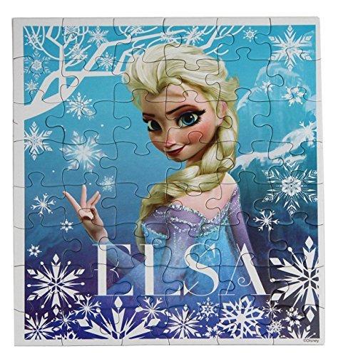 Disney Frozen Princesses Anna and Elsa 48 Piece Puzzles (Set of 2 Puzzles) (Two Puzzle Piece Set)