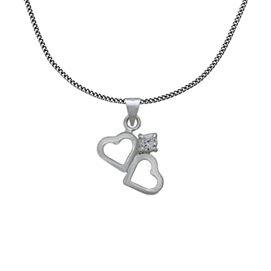 Buy shalinindia sterling silver pendant and chain for girl online at shalinindia sterling silver pendant and chain for girl mozeypictures Gallery