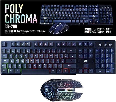Freaks and Geeks 802608 Kit de teclado/ratón/alfombrilla de ratón para PC: Amazon.es: Informática
