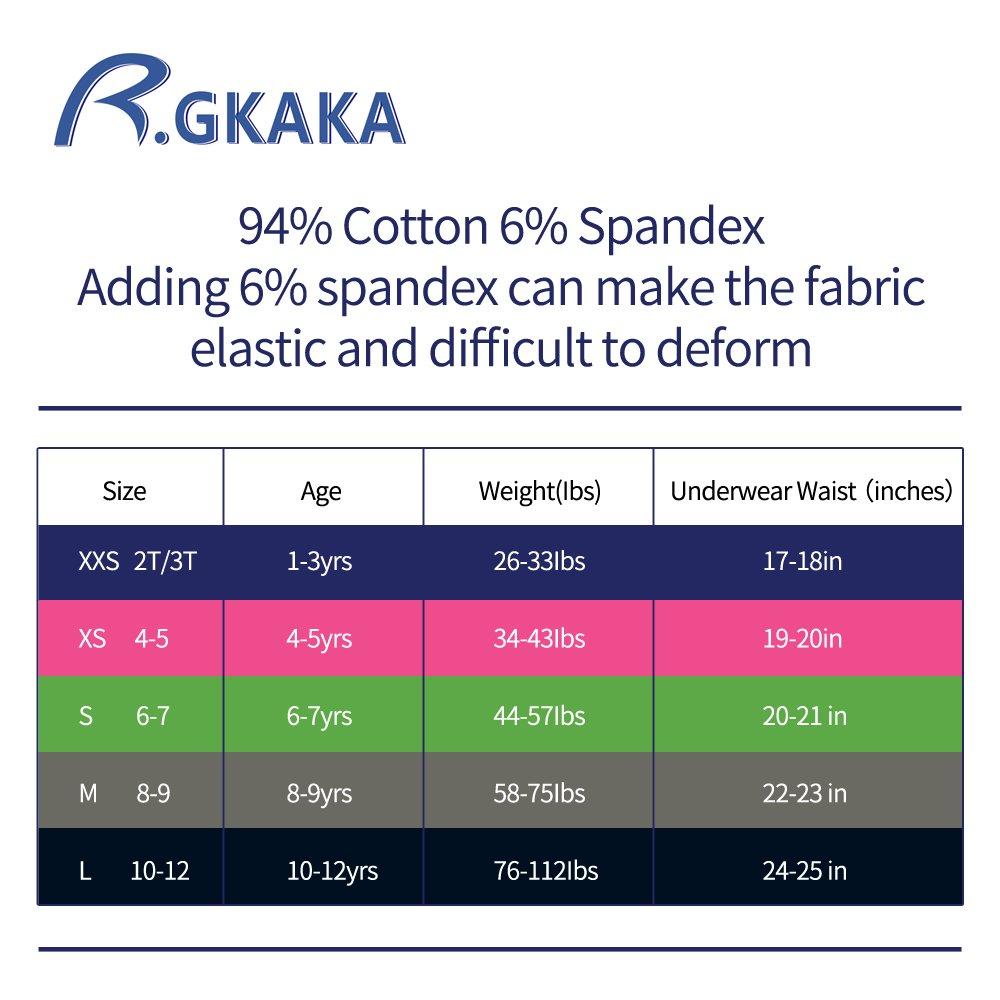 B.GKAKA Little Boys 5 Pack Briefs Solid Color Kids Underwear by B.GKAKA (Image #7)