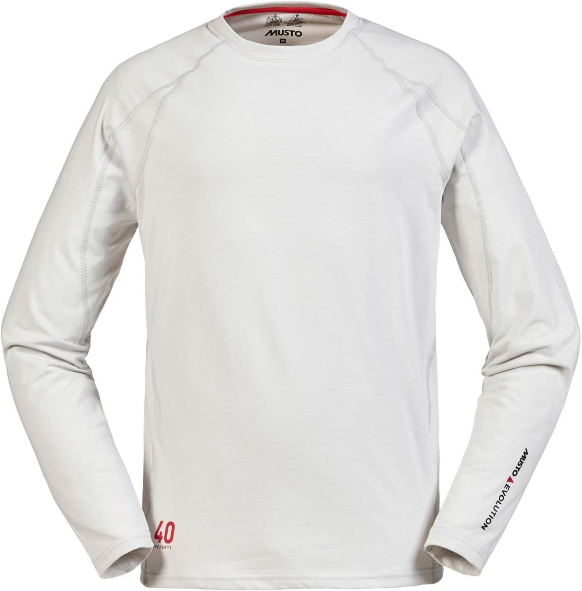 Musto Evolution Sunblock Long Sleeve T-Shirt - Platinum XS: Amazon.es: Deportes y aire libre