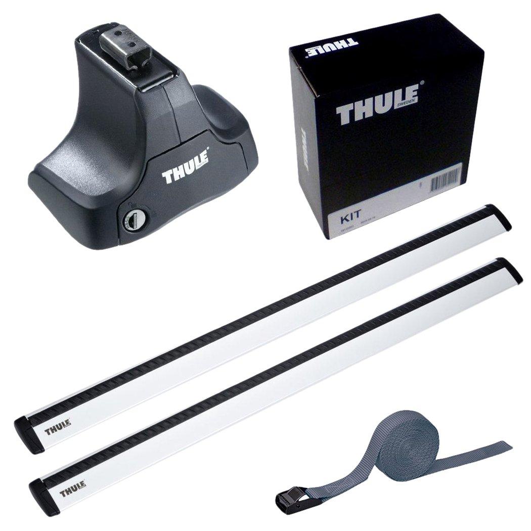 THULE スーリー ベースキャリアセット 754+969+1687 プジョー 208 3ドア5ドア 2012- A9# 754+969+1687 B01HGVRV4I ベルトなし