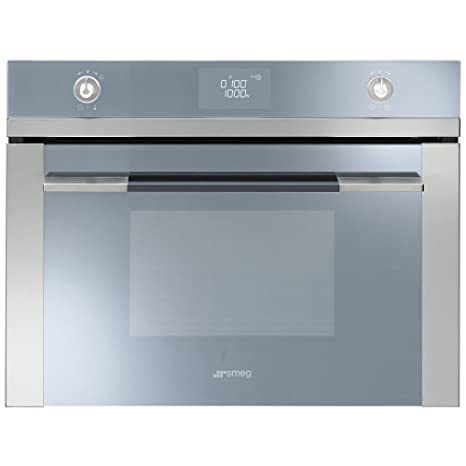 Smeg SF4120M Integrado 40L 1000W Espejo, Acero inoxidable ...