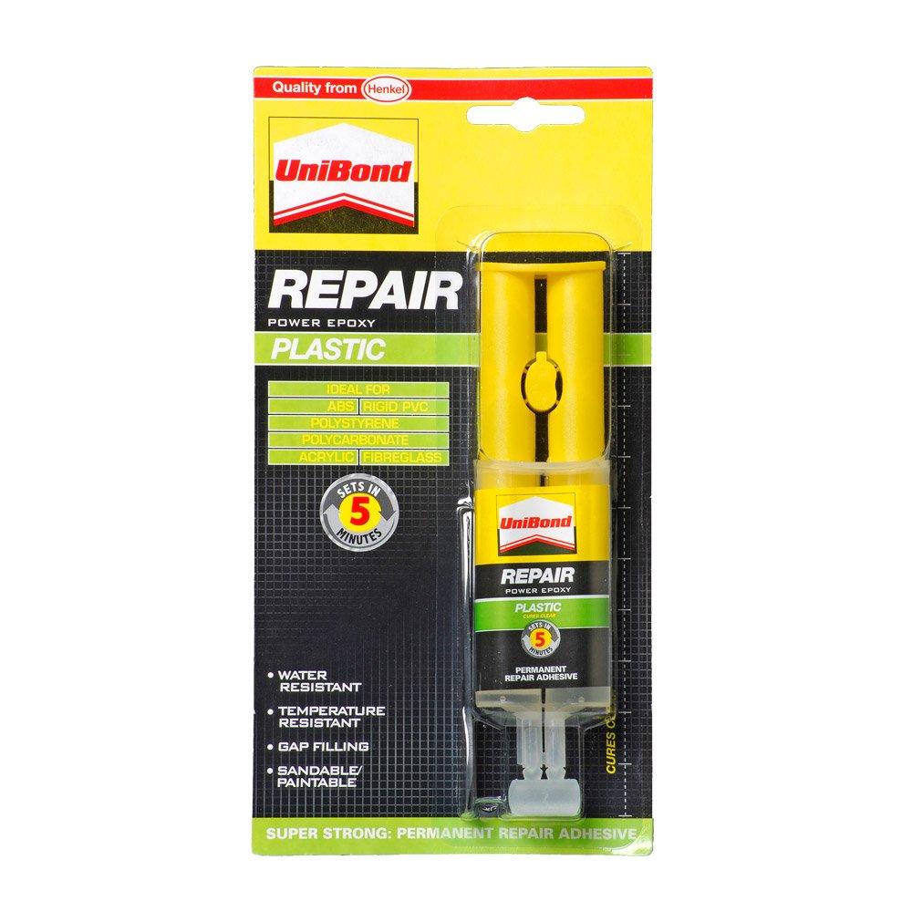 UniBond Repair Power Epoxy Plastic - 25 ml Henkel 1381190 B003UGKTHK