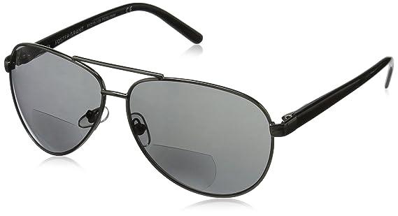 ac5ef52bccaa Amazon.com  Foster Grant Men s Command 1017553-100.COM Aviator Reading  Glasses
