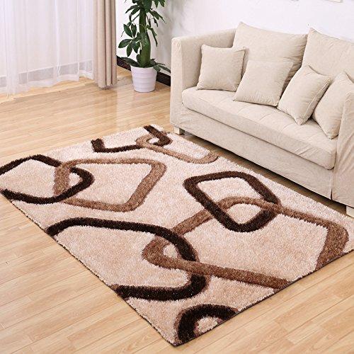 Rugai Ue Thick Stretch Silk Carpets Rugs Living Room Carpet Bedroom Mattress Light Diamond Square 2x3m Buy Online In Kuwait At Desertcart Com Kw Productid 150505340