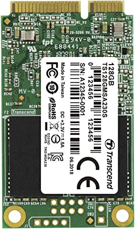 Transcend Highspeed 128gb Interne Msata Ssd Sata Iii Computer Zubehör