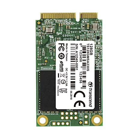 Transcend ts128gmsa230s Interno mSATA III SSD 128 GB (SATA ...