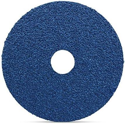"""100-5/"""" Zirconia Resin Fiber Sanding Grinding Disc 36 Grit"""
