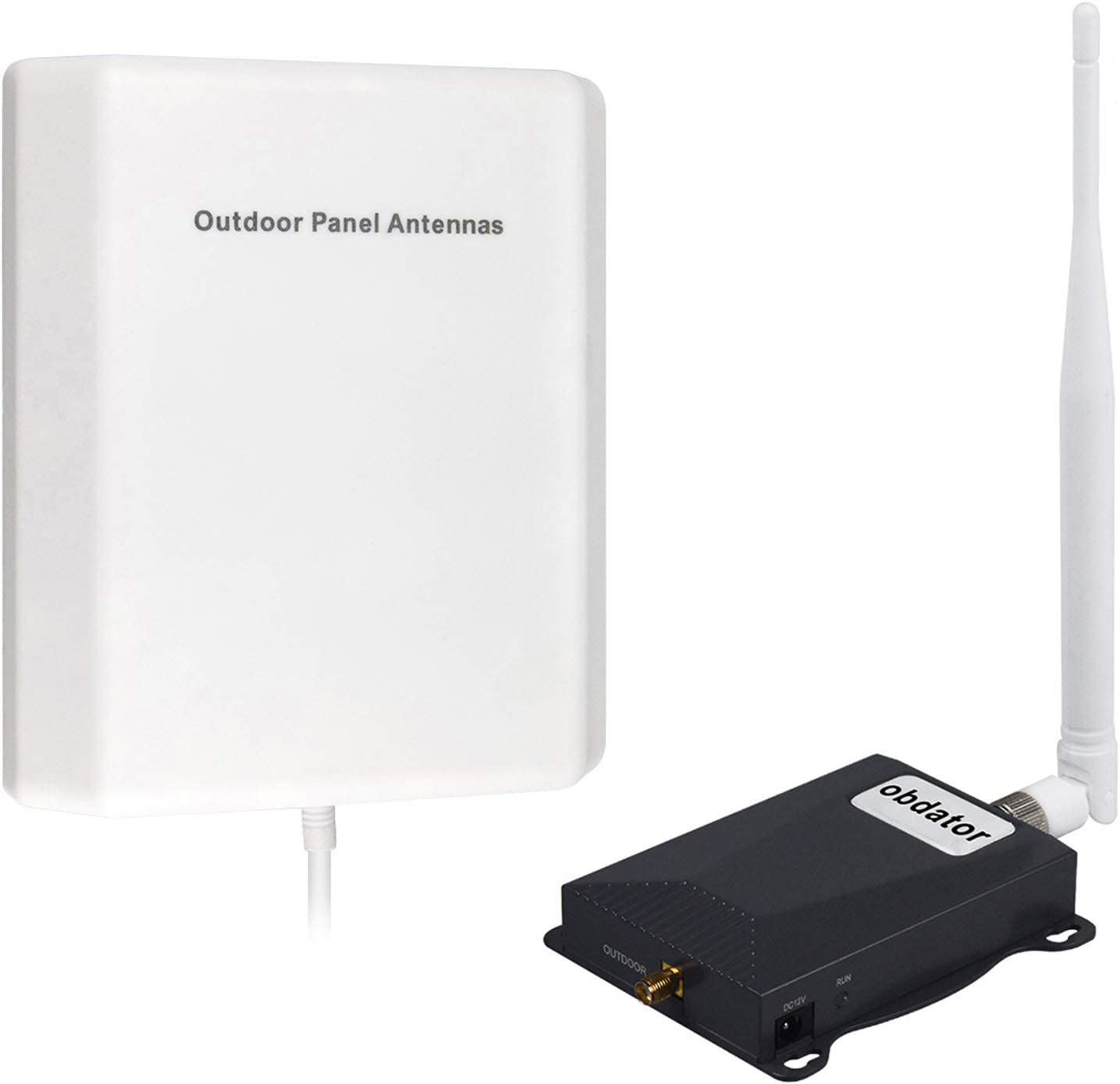 AT&T T-Mobile Signal Booster 4G LTE Cell Phone Signal Booster Home Indoor FDD 700Mhz Cell Phone Booster Amplifier ATT Cell Booster Band 12 obdator High Gain Mobile Phone Signal Booster Repeater Kits