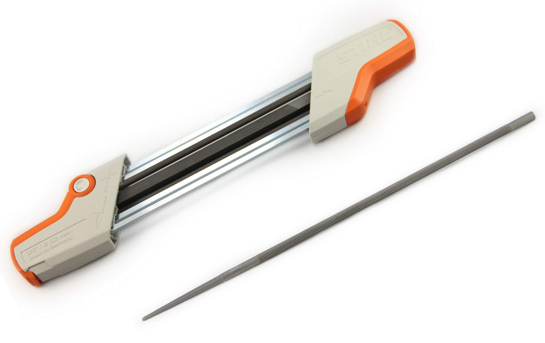 Stihl 2 in 1 Easy File Chainsaw Chain Sharpener 3/8 + bonus Replacement File! by Stihl