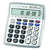 Musical Function Calculator,Portable 12-Digits LCD Display Calculator with Alarm Clock and Voice Reading ,China Original AR-7778