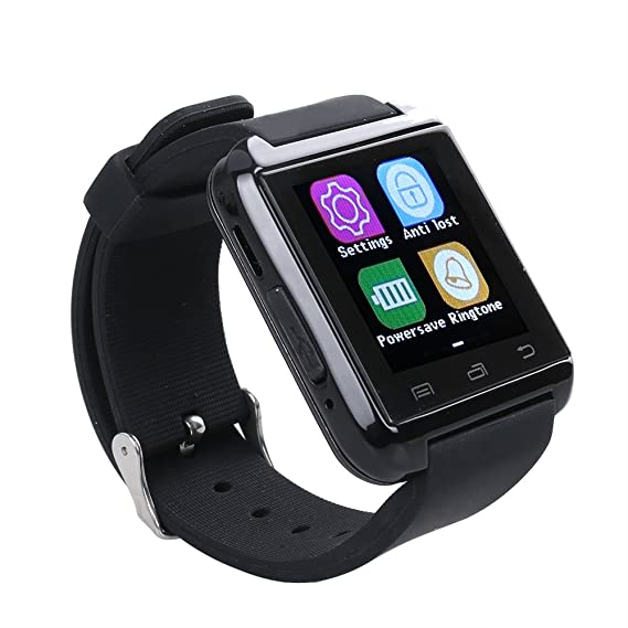 Flylinktech - Smartwatch U8 Plus Bluetooth 4.0 Podómetro ...